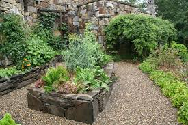 stone raised beds vegetable garden by pandorea