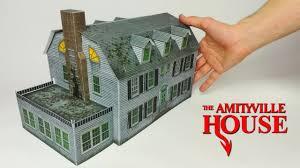 diy maison d amityville en papier papercraft film d horreur