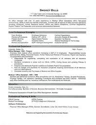 Medical Office Assistant Resume Sample Medical Assistant Job Resume