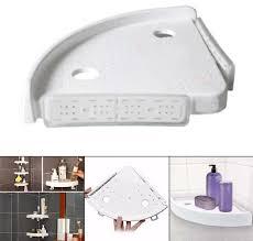 bathroom corner storage holder shelves