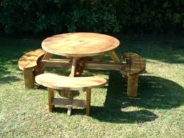 picnic table round round wood picnic table 8 round picnic table round wood picnic table for