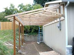 carport attached to garage carport built in front of garage adding to build a lean side