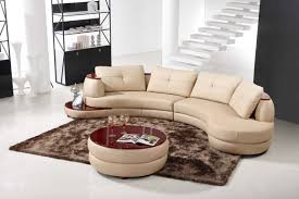 nice contemporary leather sofa with u shaped sectional with ottoman and the brick sectionals