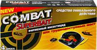 Инсектицид <b>COMBAT</b> Super Bait <b>Ловушка для тараканов</b> – купить ...