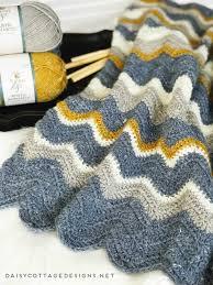 Blanket Patterns Stunning Pretty Chevron Blanket Crochet Pattern Daisy Cottage Designs