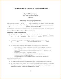 Wedding Contract Template Wedding Photography Contract Template1