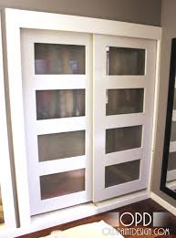 double closet doors awesome installing bypass closet doors sliding ideas how to install double