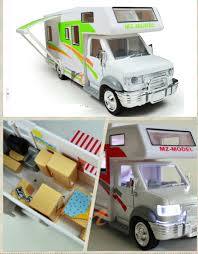 Camper Cars Luxury Travel Car For Children Best Gift Model 128 Camper Rv