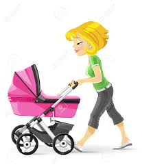 Image result for moms walking cartoon