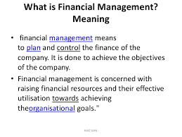 Finnancial Management Financial Management Complete Note