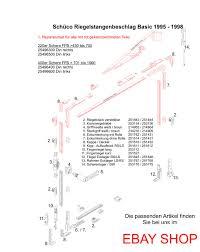 Schüco Getriebe Fenstergetriebe 253973 253967 287268 28726900 Schüco