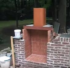 how to build an outdoor brick fireplace marvelous design build an outdoor fireplace pleasing how to