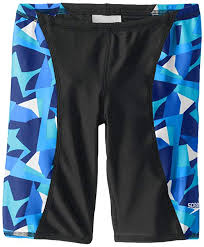 Speedo Big Boys Echo Youth Jammer Swimsuit