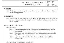 Method Of Statement Sample Method Statement Installation Commissioning Method Statements 10