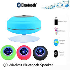 Waterproof Speaker With Lights Q9 Waterproof Led Wireless Bluetooth Speaker Outdoor