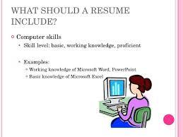 Computer Skills For Resume Stunning Basic Skills For A Resume Kenicandlecomfortzone