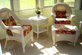 white indoor sunroom furniture. White Sunroom Furniture Indoor Wicker .