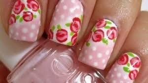 Easy Floral Nail Designs 9 Simple Flower Nail Art Designs For Beginners Styles At Life