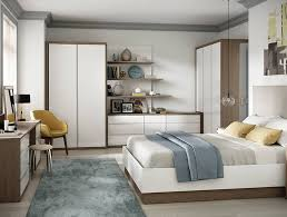 contemporary fitted bedroom furniture. Solo Bedroom In High Gloss White And Tuscan Oak Contemporary Fitted Furniture P