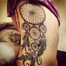 Dream Catcher Tattoo On Side 100 Dreamcatcher Tattoo Designs 100 23