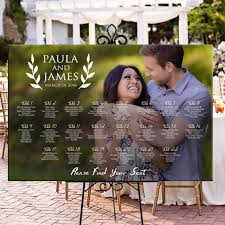 Us 17 27 36 Off Please Find Your Seat Rustic Custom Photo Seating Chart Plan Wedding Seating Table Assignment Wooden Personalized Guests List In
