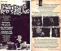 Patterns Rod Serling