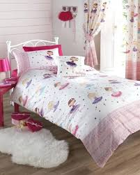 ballerina bedding set ballerina ballet r girls duvet quilt cover bedding set or curtains set pink