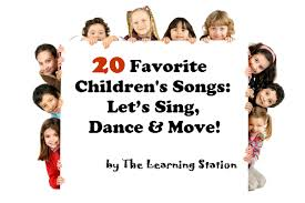 These 20 songs are super easy and fun to learn for all beginners. 20 Favorite Children S Songs Let S Sing Dance Move The Learning Station