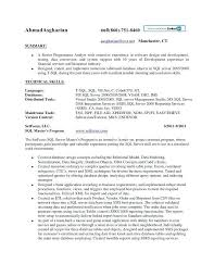 Sql Server Developer Resume Samples Sample Free Resumes Tips