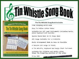 Traditional Irish Music Charts Tin Whistle Sheet Music Notes Irish Folk Songs