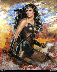 amazon warrior art. Delighful Art Wonder Woman Amazon Warrior Fine Art Print Behind The Scenes Inside Z