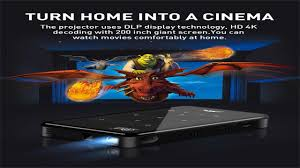 <b>Vivicine P09 Smart</b> 4K Mini Projector + Best offer buy