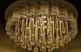 glow statement chandelier 1