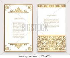ornate gold frame border. Fine Ornate Vintage Gold Frames With Swirly Border And Corner Patterns On White Ornate  Golden Decoration For Greeting On Ornate Gold Frame Border M