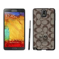 Coach In Signature Beige Samsung Note 3 Cases DSG