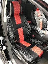 prius zvw30 seat cover absolute red black leather seat cover toyota