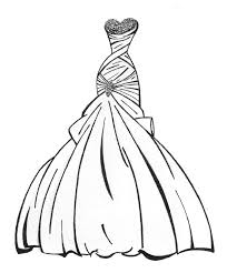 Fancy Dress Coloring Pages Dress Coloring Pages Getcoloringpages