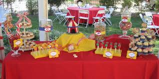 Interior Design:Creative Circus Themed Birthday Party Decorations On A  Budget Cool In House Decorating