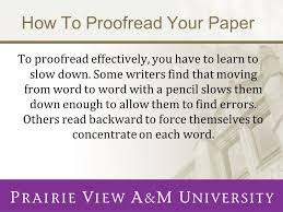 the writing center presents proofreading developed by joy n  4 how