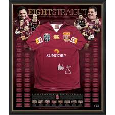 Queensland Maroons Signed Jersey 'Eight ...