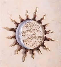 copper sun moon stars wall art page 1