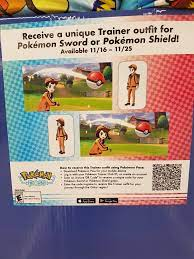 Pokemon Sword and Shield Trainer Outfit QR code - Album on Imgur