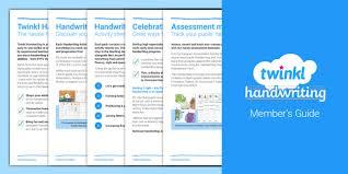 Handwriting Progression Chart Free Twinkl Handwriting User Guide Handwriting Penpals