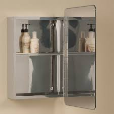moderno reversible stainless steel medicine cabinet  bathroom