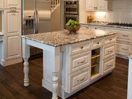 traditional white kitchen with granite countertops