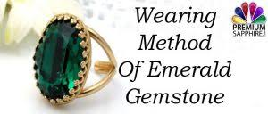 Emerald Gem Color Chart Wearing Methods Of Emerald Panna Gemstone