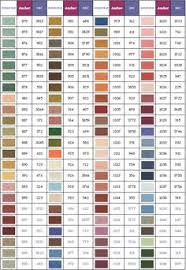 Dmc Color Chart 2018 Printable 50 Unmistakable Anchor To Dmc Thread Conversion