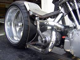 custom exhaust fabrication services for old school harley davidson