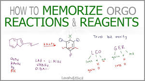 how to memorize organic chemistry reactions and reagents work recording