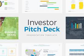 Investor Pitch Deck Presentation Powerpoint Template Pptx